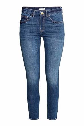 33b5e47a871ec Ex Zara Ladies New Woman Sand wash Denim Spandex Summer Jeans Slim Fit  Trouser