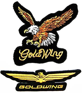 amazon com set eagle bald hawk goldwing chopper motorrad jacket rh amazon com goldwing color codes goldwing logistics