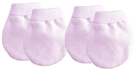 2 pares guantes de manoplas antiarañazos para bebé recién nacido ...