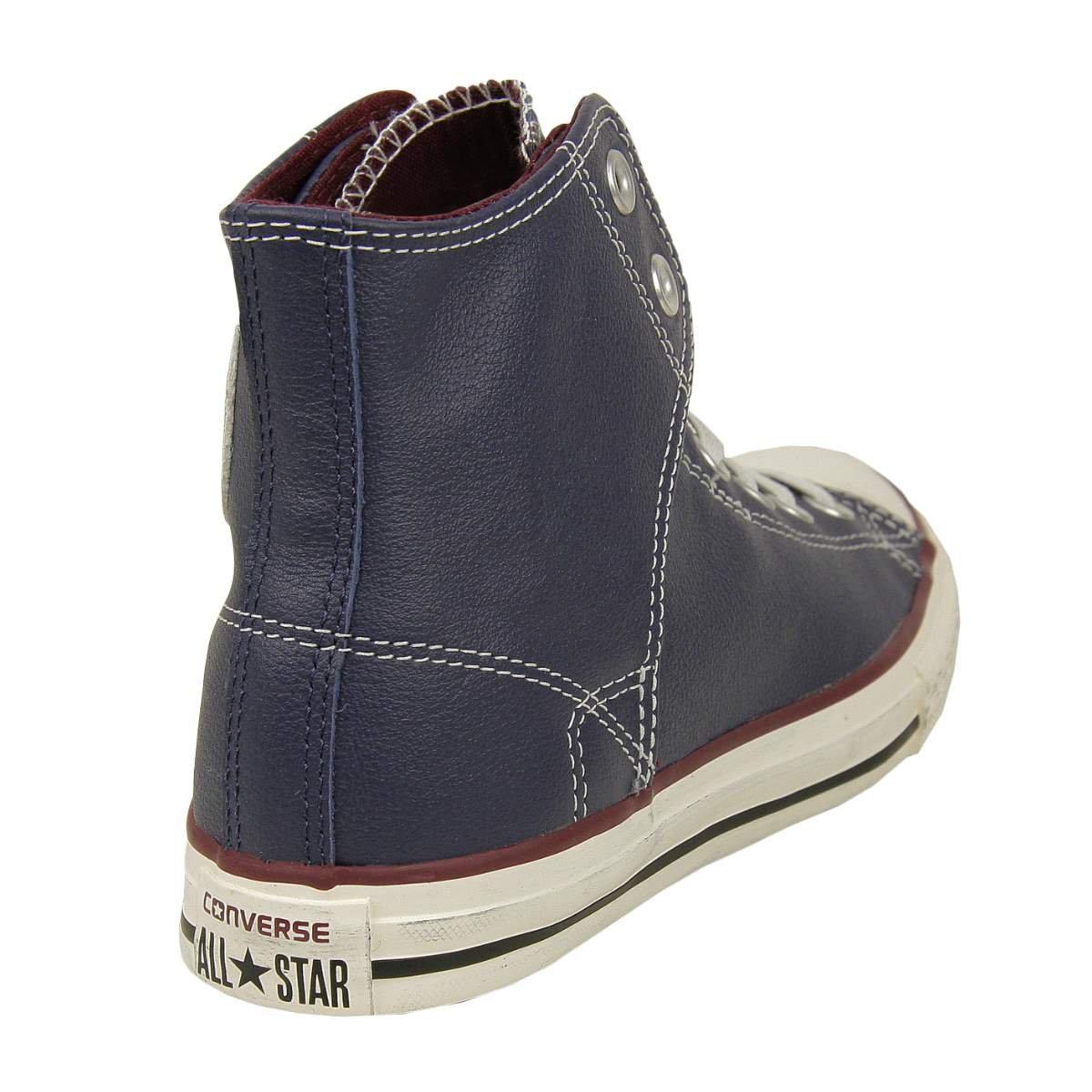 9bc61b00b4f2b Converse Kinder Leder Chucks 641151C Schuhe Easy HI peacoat - 35