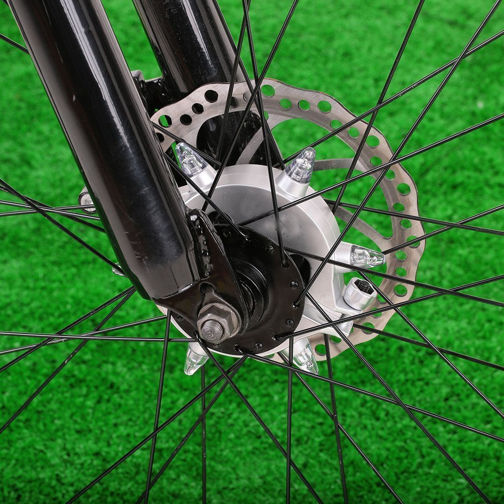 Yosky Led Bike Wheel Light - 3 Modes - Remote Control Cycling Bike Hub Light - Water Resistant - Night Warning Bike Rear Tail Light by Yosky (Image #5)