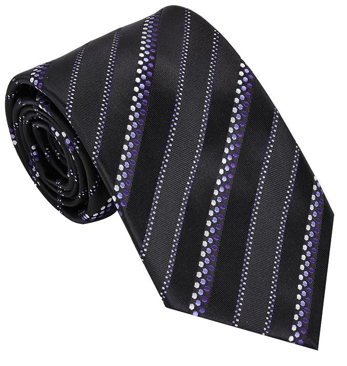 Los hombres corbata tejida clásica de la raya: Amazon.es: Juguetes ...