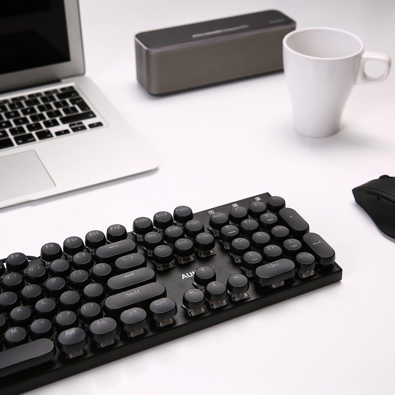Amazon.com: E-Yooso Retro Keycaps Set, PBT Double Shot, Translucent Backlit 104 Key Cap with Key Puller for Mechanical Gaming Keyboards (Black): Computers & ...