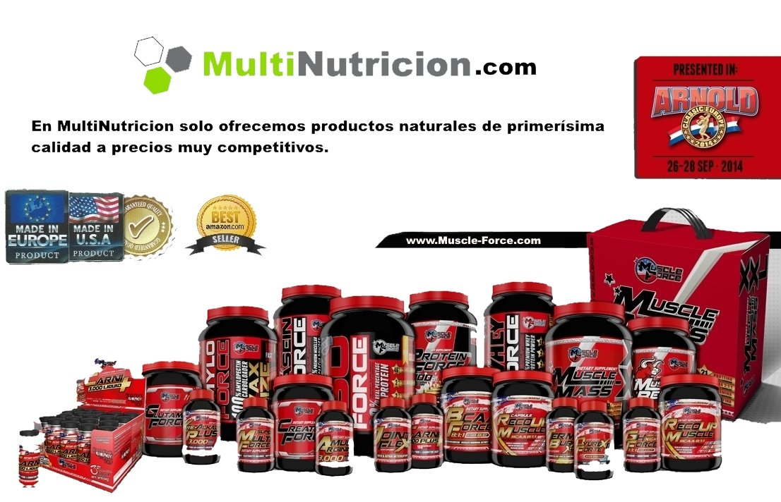 Super Multi Force Multivitaminico 60 capsulas: Amazon.es ...