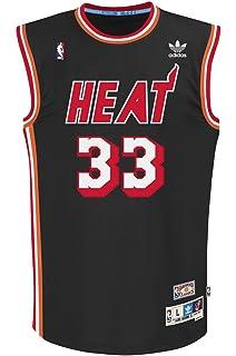 ... Charlotte Hornets Light Blue Road Authentic Jersey - Alonzo Mourning  Miami Heat Alonzo Mourning Black Adidas Soul Swingman Jersey ... 56b3f5e3a