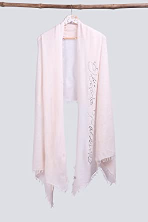 1d81719386 Handcrafted Cashmere Wrap Shawl with Swarovski - VS 12184 Old Rose ...
