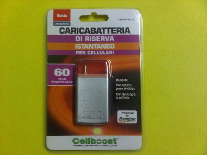 CELLBOOST - Powerbank USA y desechable emergencia, cargador ...