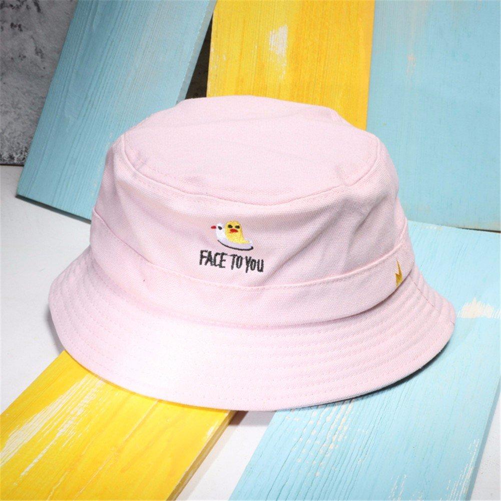 Vintage Moda Mujer Sombrero Sombrero pescador encantador Floppy Hat cuchara caliente Hat,Rosa
