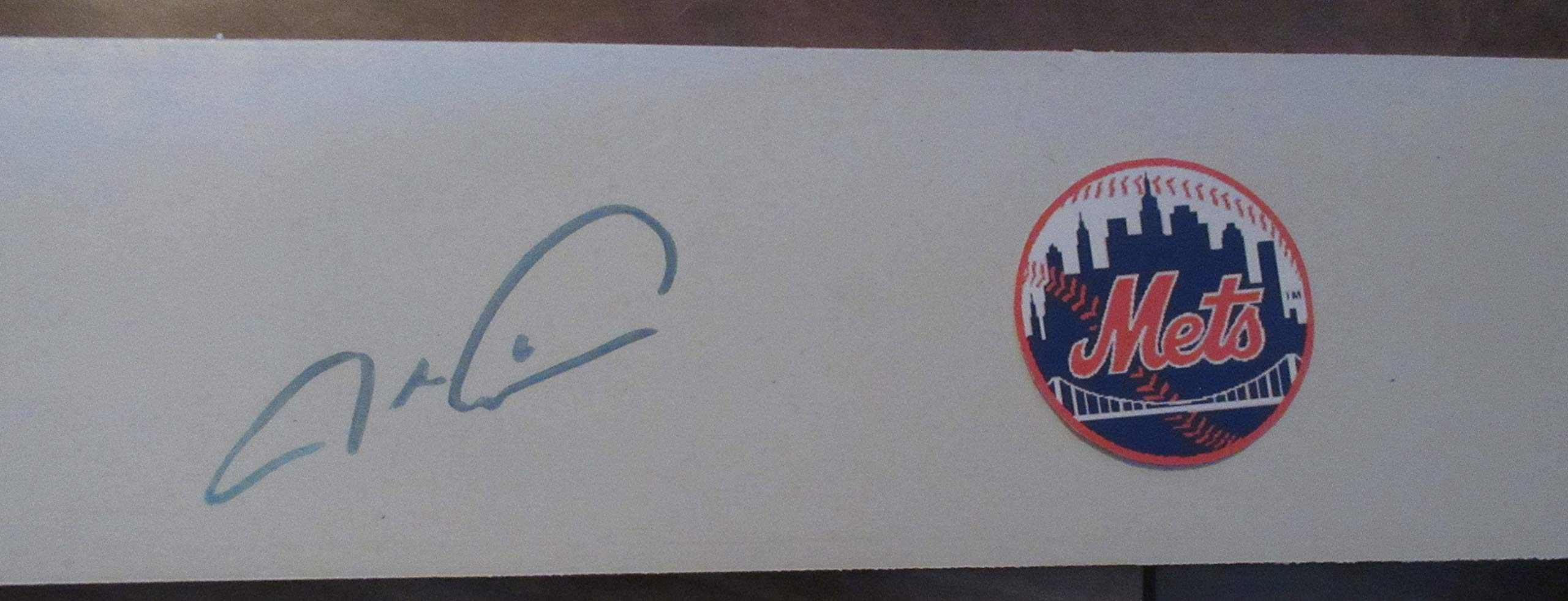 Jacob DeGrom Autographed New York Mets Logo Pitching Rubber, New York Mets, Cy Young Award, All Star
