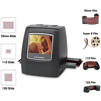 .com: digitnow film scanner with 22mp converts 126kpk/135/110 ...