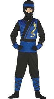 Guirca Rudy Disfraz Ninja Shinobi Samurai-Bambino 5 - 6 años ...