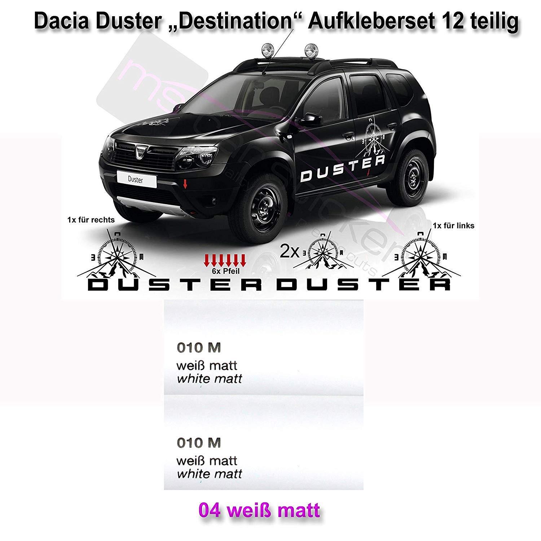Generic Dacia Duster Destino Pegatinas de Coches Kit Pegatina ...