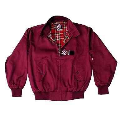 Warrior, chaqueta Harrington original de color bermellón