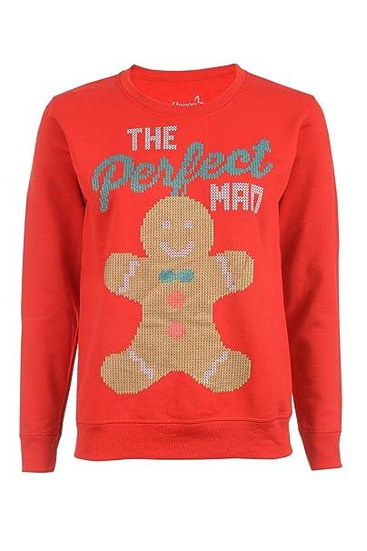 a8a62c2b388 Hanes Women s Ugly Christmas Sweatshirt at Amazon Women s Clothing ...