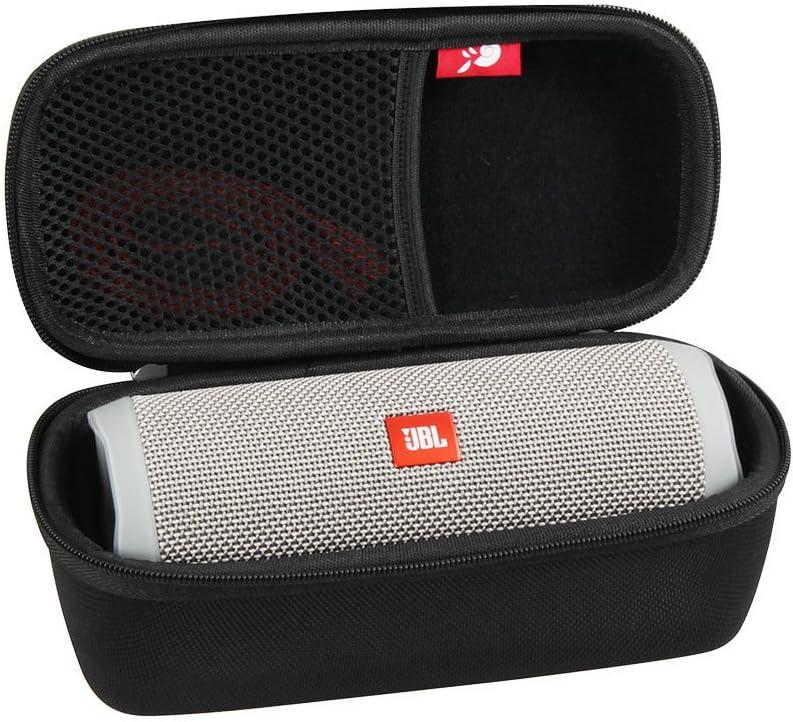 Funda Hermitshell, rígida, de EVA, para altavoz Bluetooth portátil JBL Flip 4, a prueba de salpicaduras