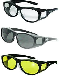 c79067dca27 SSP Eyewear Over The Glass Safety Glasses with Clear Anti-Fog Lenses ...