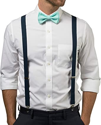 Details about  /Kids Boys Mens Navy Blue Suspenders /& Chianti Maroon Bow Tie Baby ADULT SET