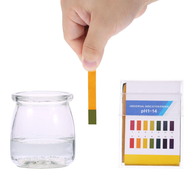 PH Tiras de prueba, prueba para orina saliva ácido alcalino ...