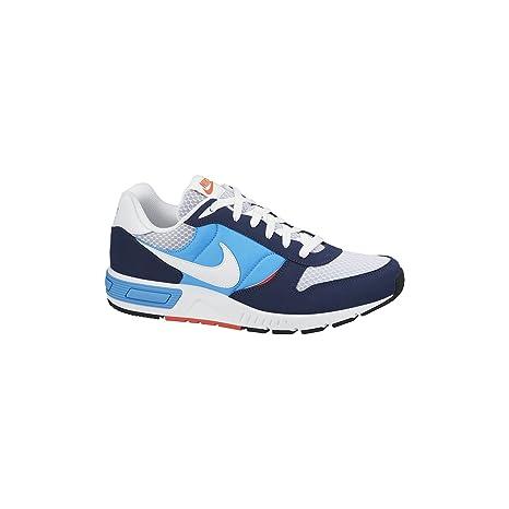 Nike Nightgazer - Zapatillas de Running para Hombre, Color Azul Oscuro/Azul Cielo/