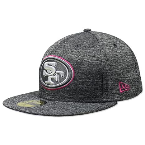 New Era 59Fifty NFL16 BCA San Francisco 49ers Gray Fitted Cap (7 1 2 7bd372b37