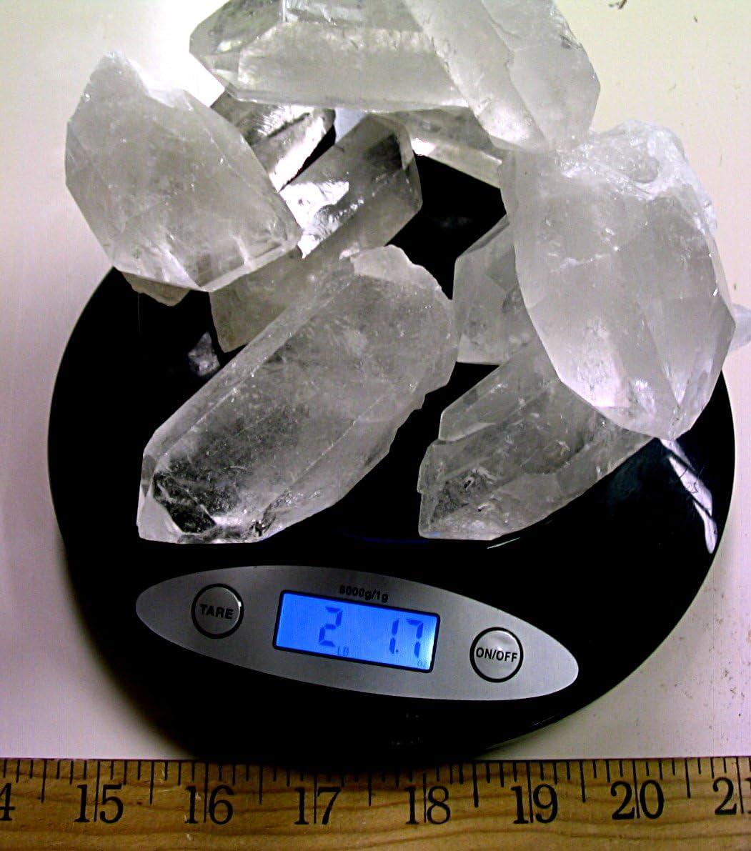 Quartz Point Arkansas Quartz Crystal Hand Stone