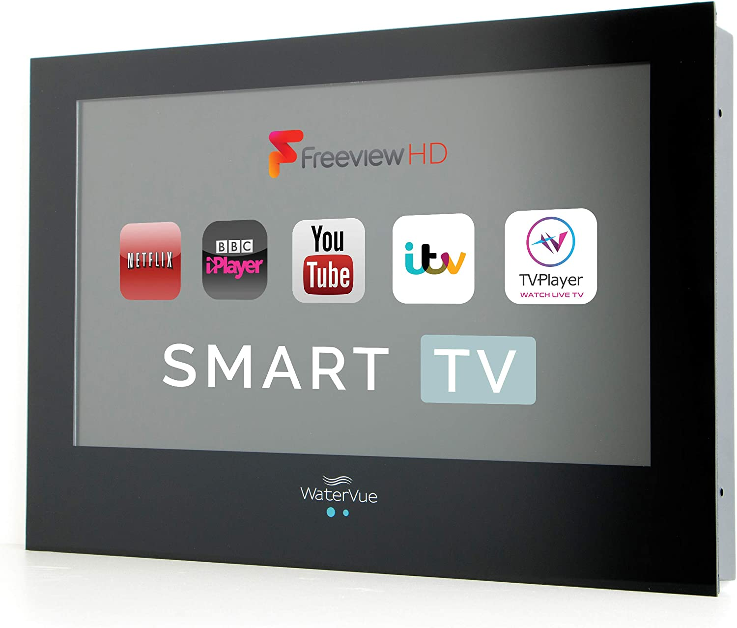 Smart TV impermeable de 24 pulgadas de baño Smart TV: Amazon.es: Electrónica