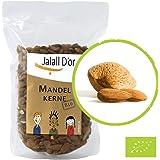 MANDELN bio Jalall D'or | 1kg | aus SPANIEN/ITALIEN | natur-belassen | frisch abgefüllt | BIO zertifiziert | mediterrane Premiumqualität | ursprüngliches Mandelaroma | Mandelkerne mit Haut in (1000 g)
