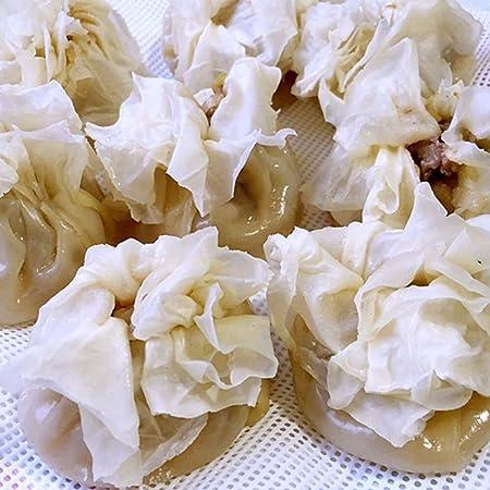 Hemoton 20 Pcs Cuisine Silicone Vapeur Maille Antiadh/ésive Pad Rond Boulettes Mat Cuit /à La Vapeur Brioches Cuisson P/âtisserie Dim Sum Maille Taille S