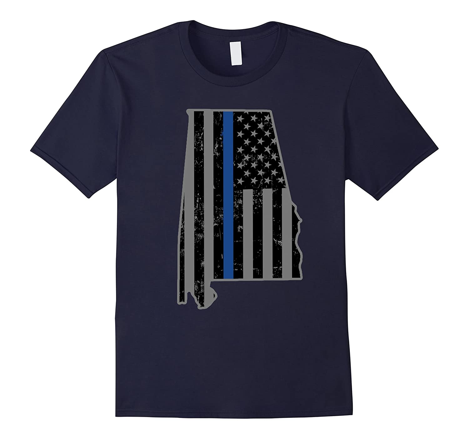 Alabama State Police Alabama State Trooper Thin Blue Line-CL