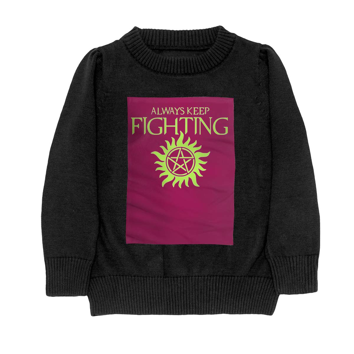 Always Keep Fighting Supernatural Fashion Adolescent Boys Girls Unisex Sweater Keep Warm