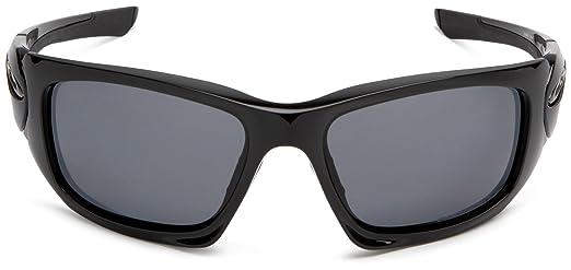 550599cc474 ... switzerland oakley mens scalpel polished black sunglasses with  polarized grey lens oo9095 05 oakley amazon clothing
