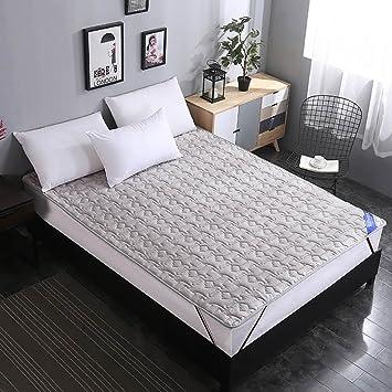 ... Plegable Impermeable Cubierta de bambú Cubierta de cama Estera de la cama Sleeping pad Dormitorio colchones -Gris 90x200cm(35x79inch): Amazon.es: Hogar