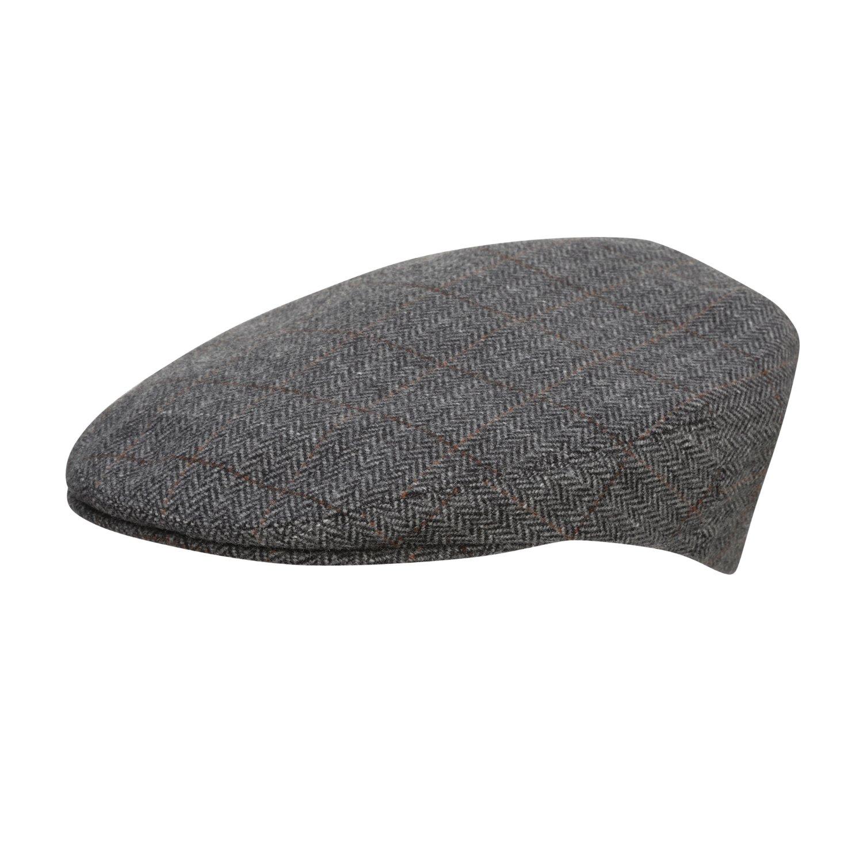 b8021e80 City Sports Cool Comfort - Wool Flat Cap - Grey Herringbone 3140:  Amazon.co.uk: Clothing
