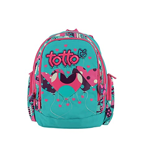 TOTTO Mochila Escolar - Party