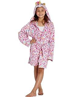 TY Beanie Boo Fantasia Unicorn Plush Fleece Hooded Holiday Bath Robe