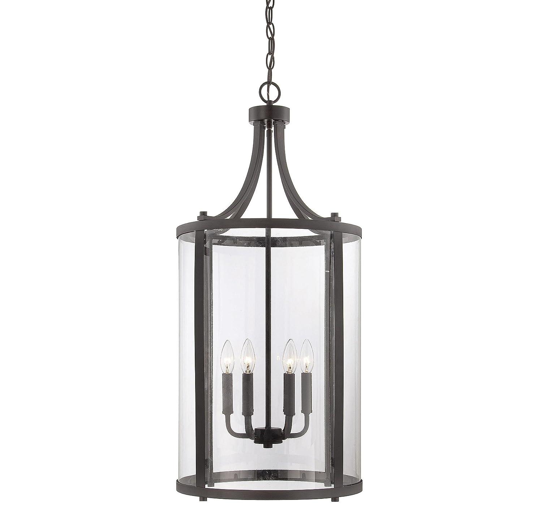 savoy house penrose 6light medium foyer lantern english bronze amazoncom - Savoy Lighting
