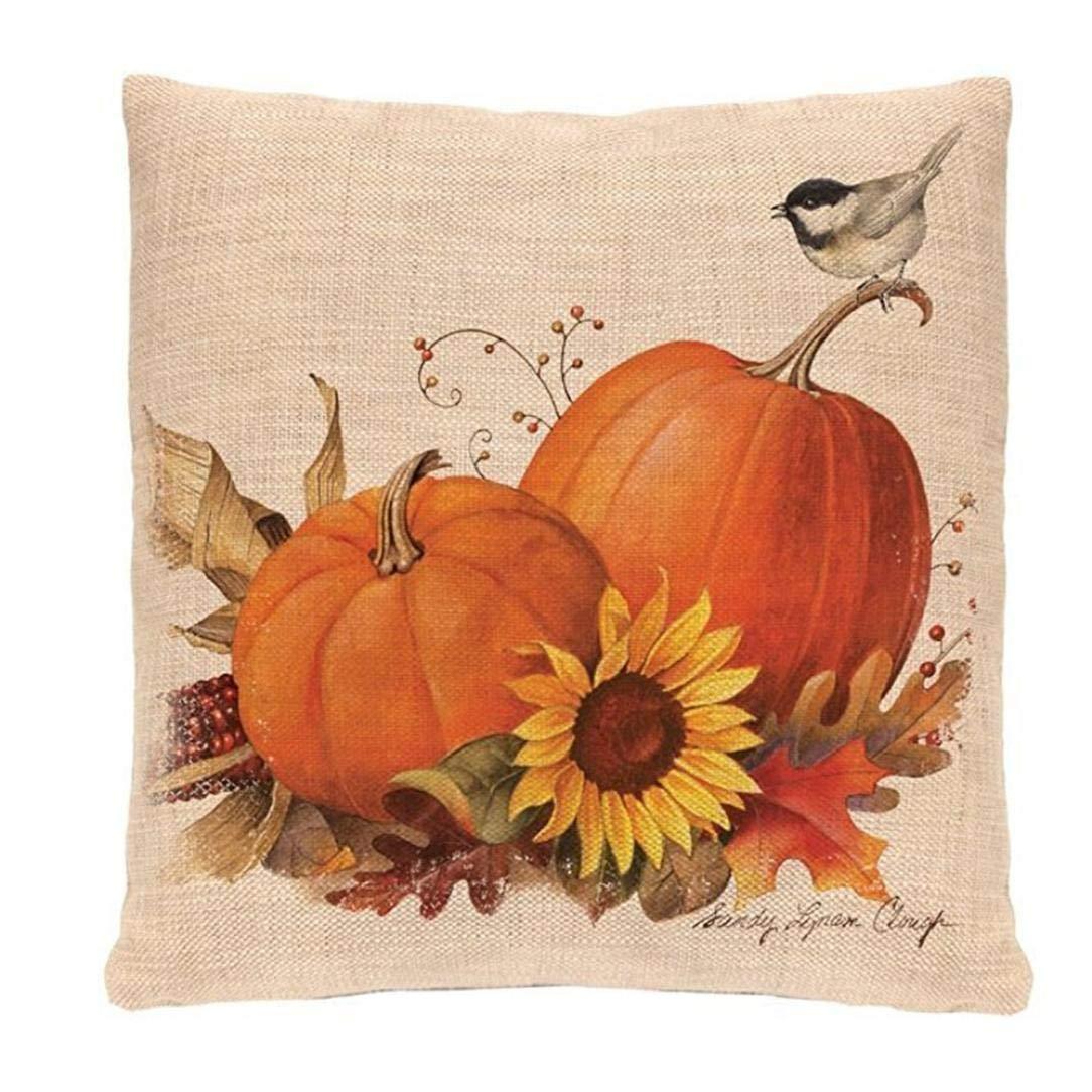 Alixyz Fashion Halloween Sofa Bed Home Decor Pillow Case Fashion Cushion Cover (C, M)
