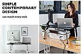 Computer Monitor & Keyboard Stand Up Desktop