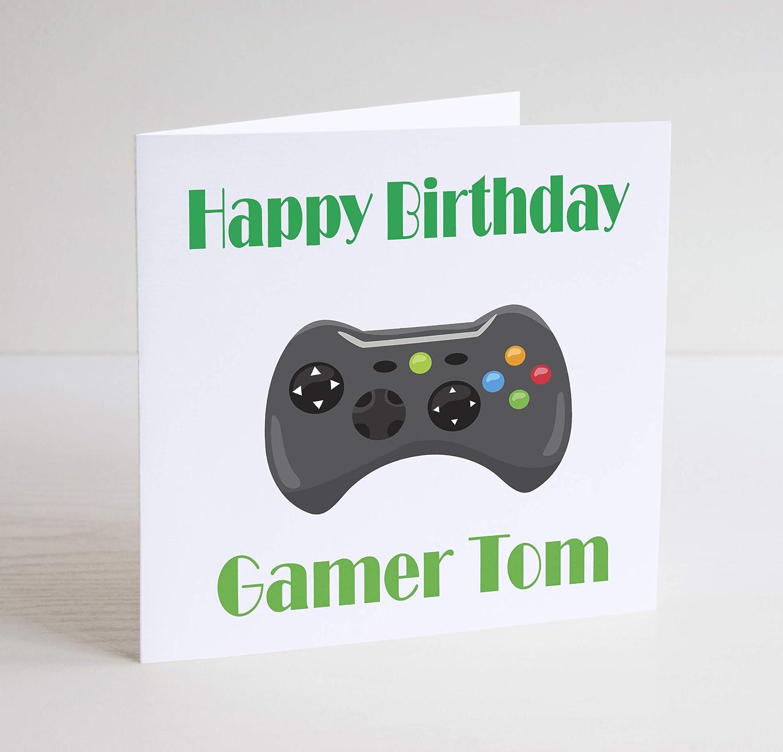 BCS25 - Tarjeta de felicitación de cumpleaños para Xbox ...
