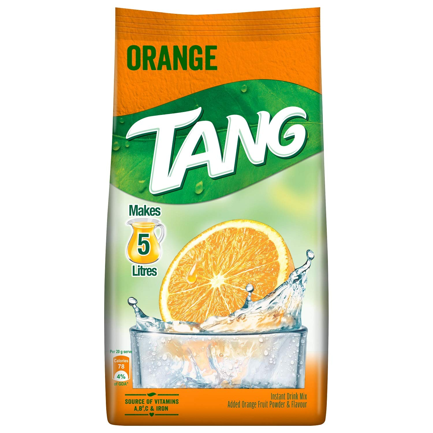 Tang Instant Drink Mix, Orange, 500g