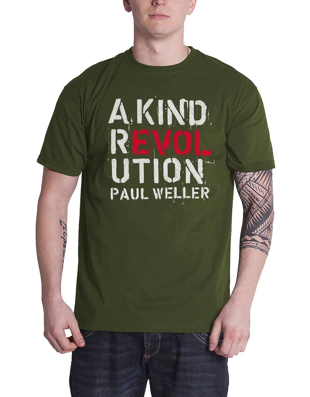 Paul Weller Men/'s Tee A Kind Revolution