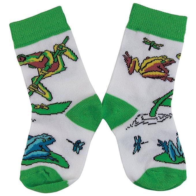 Wild diseño de rana Mix Habitat patrones de costura para calcetines ...