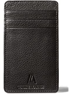 42f29a9a446d Amazon.com: Leather Architect Men's 100% Leather RFID Blocking ...