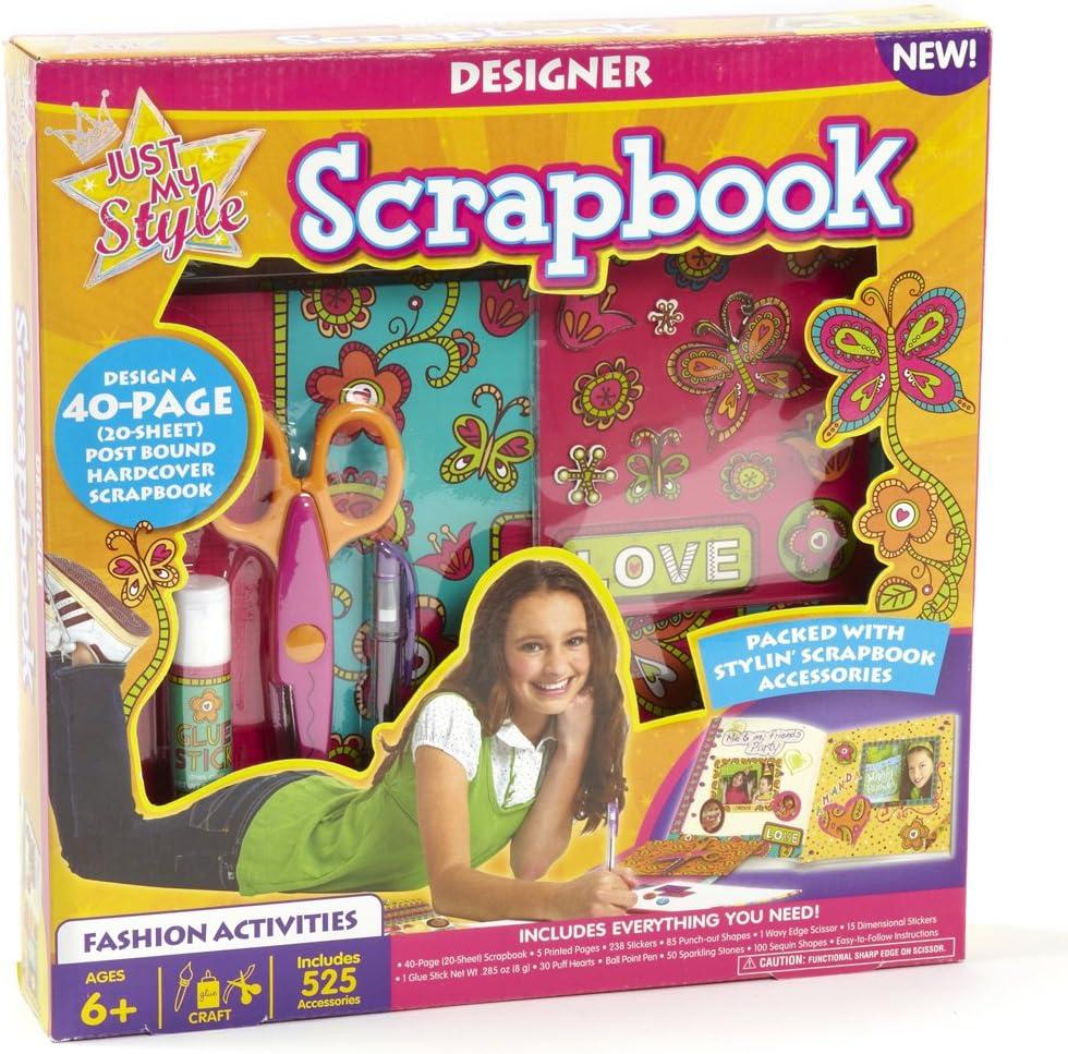 Amazon Com Just My Style Designer Scrapbook Toys Games