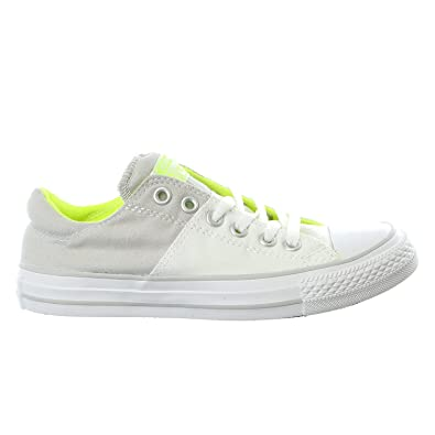 3949036ab3934 Converse Womens Chuck Taylor All Star Madison Fashion Sneaker Shoe (11 B(M)  US, White/Mouse/Volt)