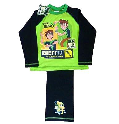 951498ec i-Smalls Ben 10 Boy's Omniverse It's Hero Time Cotton Long Pyjama ...