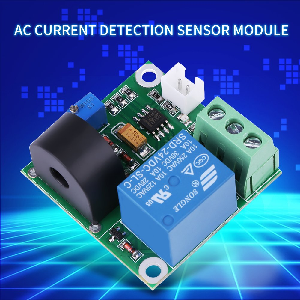 AC Current Detection Module 0-10A Switch On-off Output Current Sensor Module by Walfront (Image #8)