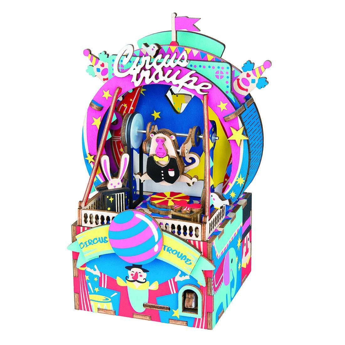 『5年保証』 WOLFBUSH 3D木製組み立てパズルキット DIY木製オルゴール Carnival 96ピース As 木製ジグソーパズル アイスクリーム カーキット モデル As 子供 女の子 女性用 As shown 17N3O616071YZYB As shown Carnival Party B07J2HTZMZ, アム(ジュエリー好きが集まる店):8b5e63a4 --- a0267596.xsph.ru