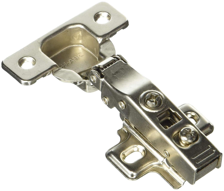 Full Overlay Concealed Frameless Cabinet Hinge - Soft Closing - Clip on Plate (20)