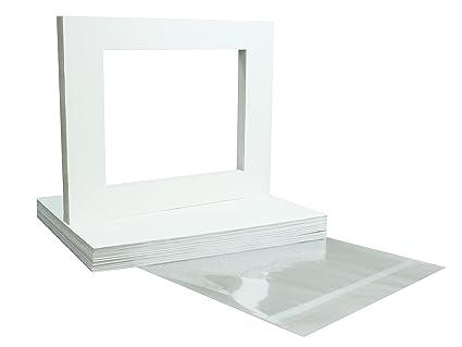 amazon com mat board center brand premium crescent 11x14 white